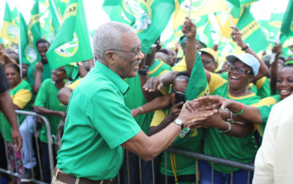 'Choose leaders that have your interest at heart' – President Granger