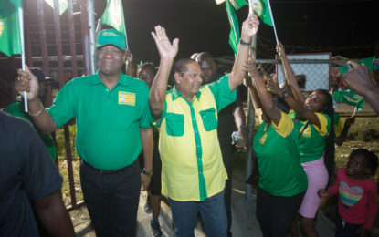 Moving Guyana forward together