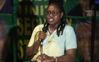 'Guyanese youths will move from glory to glory' – Min. Sarabo-Halley