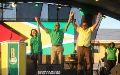 """""""Put your fate in the hands of the people you trust – President David Granger"""