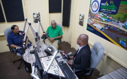 Radio Essequibo comes on air!