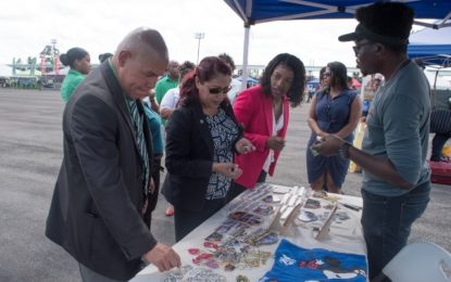 Young entrepreneurs shine at Youth Village