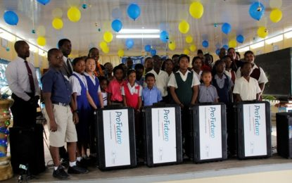 14 Berbice Schools get digital learning boost!