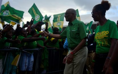 Pres. Granger appeals to Reg. 5 residents to win region at RDC level