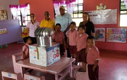 Parikwaranau – South Rupununi Community benefits from Ministerial Contributions