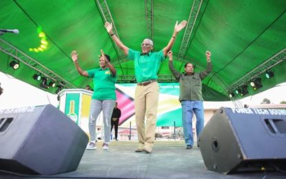 Pomeroon-Supenaam is a powerhouse – President Granger