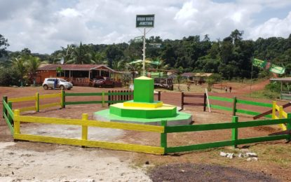 Ministry of Natural Resources Completes Beautification of Brian Sucre Junction, Mahdia