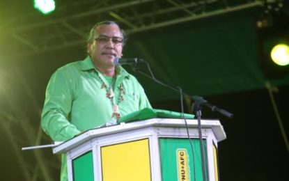 Greater development for all regions under coalition – Mervyn Williams.