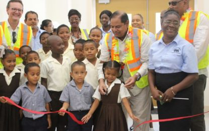New Sand Hills Primary School commissioned.