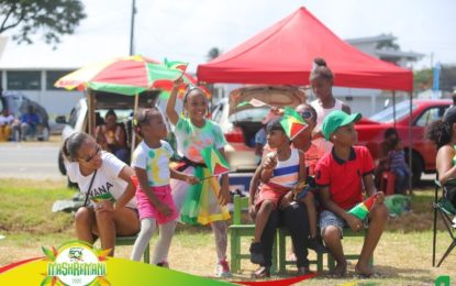 Family and friends gather to celebrate Guyana' milestone
