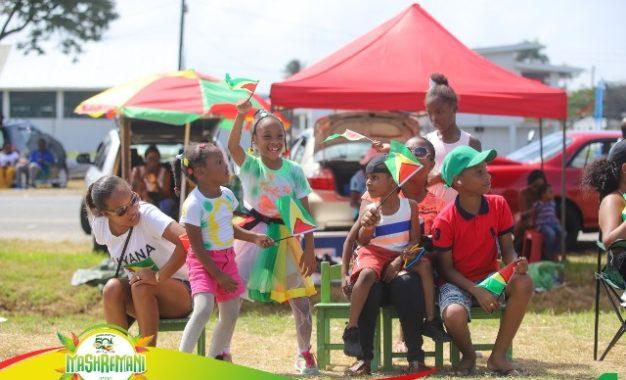 Family and friends gather to celebrate Guyana' milestone