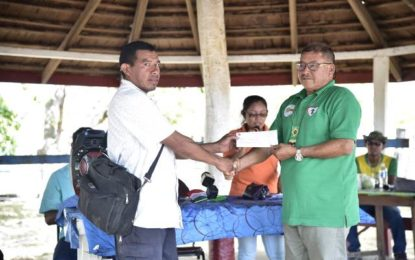 $6.15M in grants, ATV handed over South Pakaraima villages