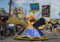 Children's Costume and Float parade dazzles