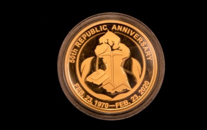 Commemorative Stamps, Golden Medallion unveiled for Jubilee anniversary