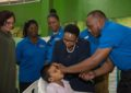 8-year-old among hundreds fitted for hearing aids.