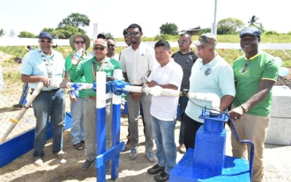 Over 1,000 Aishalton residents gain access to potable water