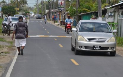 West Front Road upgrade hailed a success