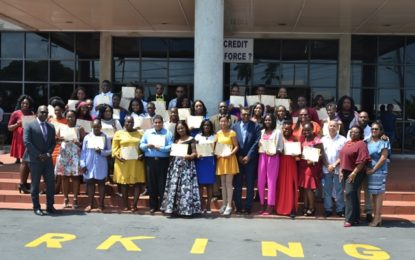 Another 36 youths graduate from entrepreneurial training