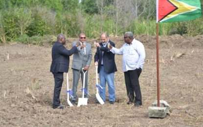 Sod turned for second Marriot Hotel at Ogle