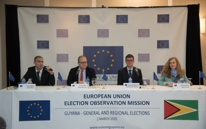EU elections observer mission launched