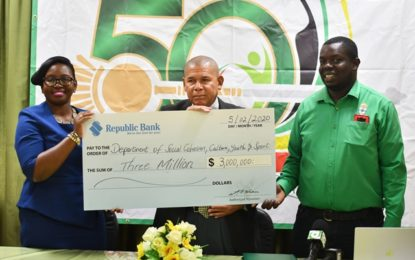 ANSA McAl, Republic Bank donate to Jubilee celebrations