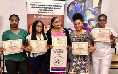 QualiTEST Recognises Phlebotomists in Guyana's Health Sector