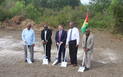 Sod turned for country's first Hilton Hotel at Ogle