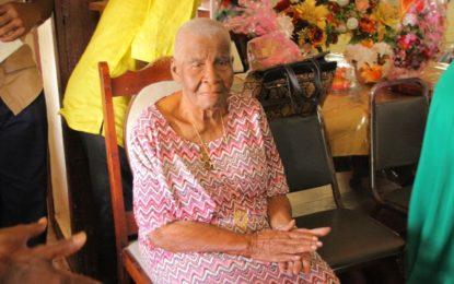 Former Educator Mrs. Pearl Gravesande celebrates her 100th Birth Anniversary