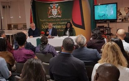Guyana Mission in Geneva Celebrates 50th Republic Anniversary