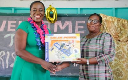 Region six schools receive STEM kits