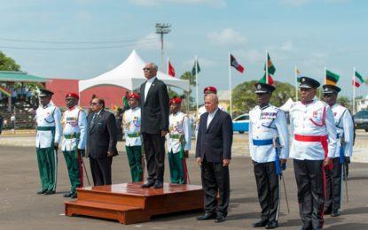 Guyana celebrates its 50th Republic!