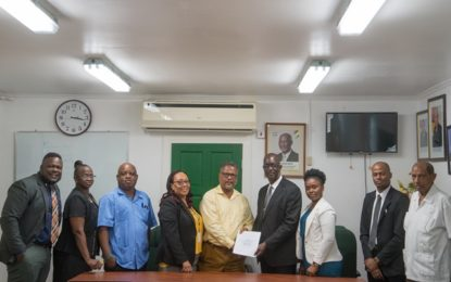 Labour Dept, GPSCU sign historic two-year Collective Labour Agreement