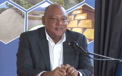 Mining in a very healthy place. Min. Trotman