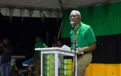 APNU+AFC on winning streak – President David Granger tells Mahdia