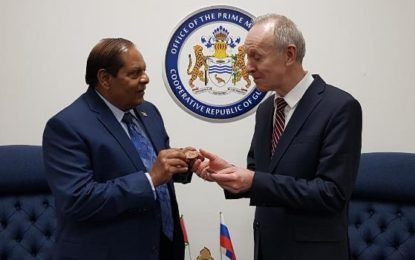 Prime Minister meets Russian Ambassador