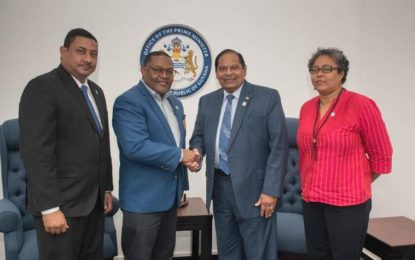 Rotary Governor pays Prime Minister Courtesy Call