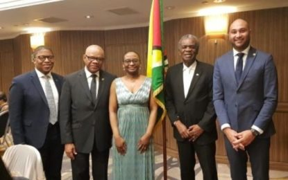 Guyana High Commission in London commemorates 50th Republic Day Anniversary