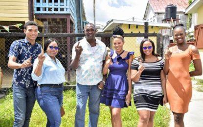 Smooth voting in East Berbice Corentyne