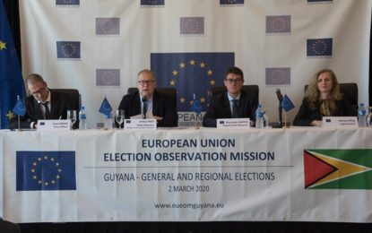 Elections day well managed – EU Election Observation Mission