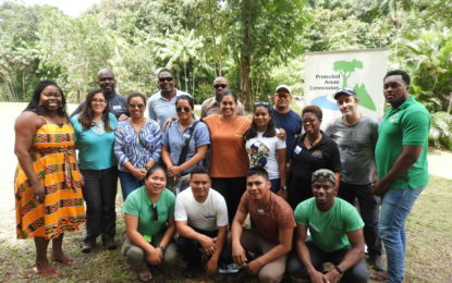 Three Guianas focusing on Goldmining in protected areas