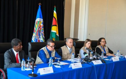Be patient in awaiting results of the polls – OAS Chief Mission, Bruce Golding.