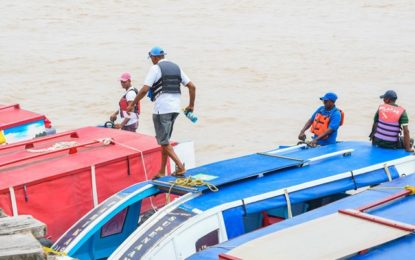 Social distancing: Supenaam boat operators to reduce passenger load