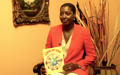 Guyanese-born author nurturing young minds