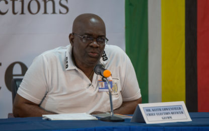 Elections results as earliest as possible – GECOM