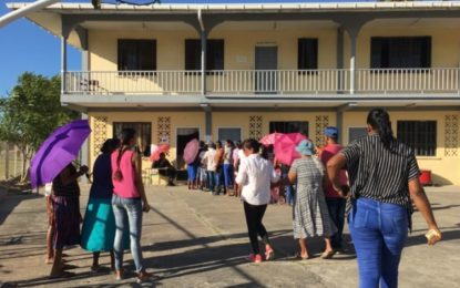 Smooth voting process in Corentyne
