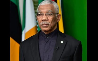 President Granger condemns violent attacks on Bush Lot residents