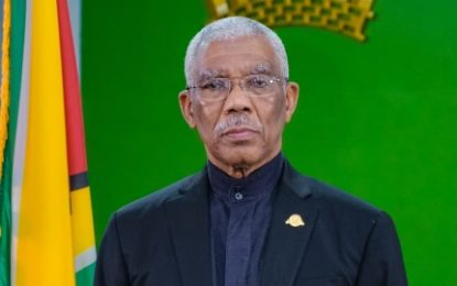 President Granger assures measures in place to prevent spread of COVID 19