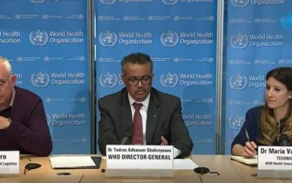 WHO updates Coronavirus guidance for all countries