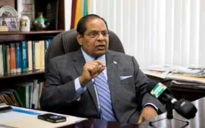 Health of Guyanese remains a priority for NCTF – PM Nagamootoo