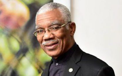 Message of His Excellency David Granger, President of the Co-operative Republic of Guyana on the occasion of Arrival Day. May 5, 2020.